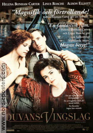 The Wings of the Dove 1997 poster Helena Bonham Carter