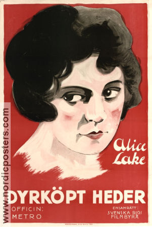 Over the Wire 1921 poster Alice Lake Wesley Ruggles