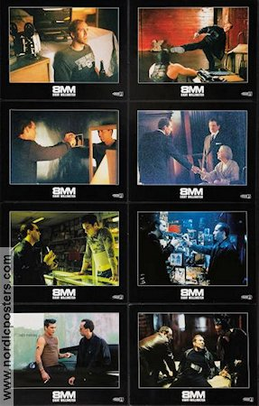 8 mm 1999 lobby card set Nicolas Cage