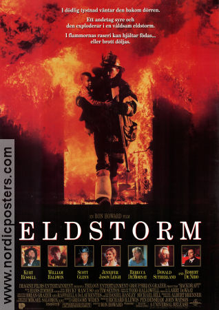 Backdraft 1991 Kurt Russell Robert De Niro Rebecca de Mornay