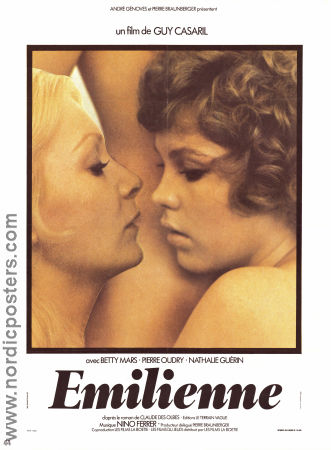 Emilienne 1975 poster Betty Mars Guy Casaril
