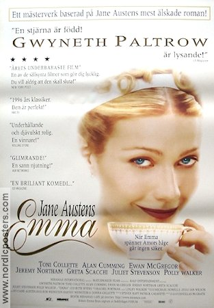 Emma 1996 Gwyneth Paltrow Toni Collette Greta Scacchi Jane Austen