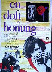A Taste of Honey 1962 Movie poster Rita Tushingham