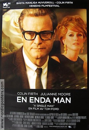 A Single Man 2009 Movie poster Colin Firth