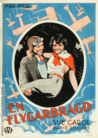 The Air Circus 1928 poster David Rollins Howard Hawks