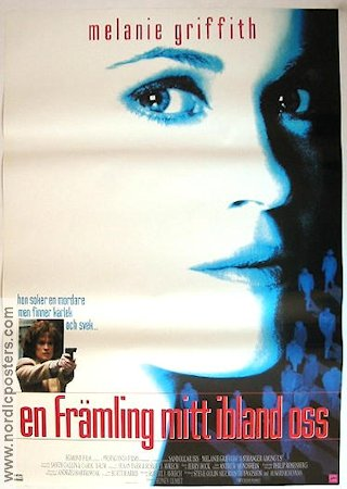 A Stranger Among Us 1992 Movie poster Melanie Griffith Sidney Lumet