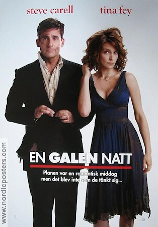 En galen natt 2009 Movie poster Steve Carell