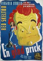 Merton of the Movies 1948 Movie poster Red Skelton
