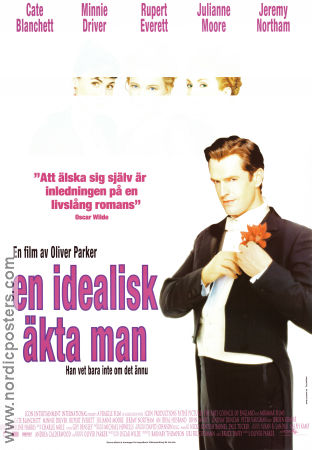 An Ideal Husband 1999 poster Rupert Everett