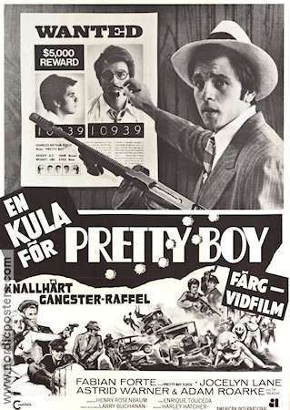 A Bullet for Pretty Boy 1970 Movie poster Fabian