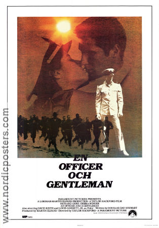 An Officer and a Gentleman 1982 poster Richard Gere Taylor Hackford