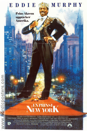 Coming to America 1988 Movie poster Eddie Murphy