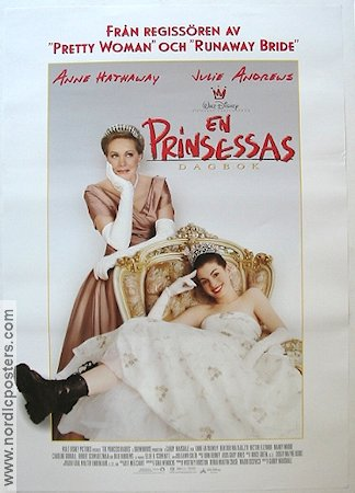 The Princess Diaries 2001 Anne Hathaway Julie Andrews