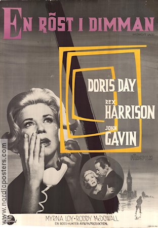 Midnight Lace 1960 Movie poster Doris Day