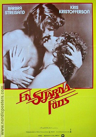 A Star is Born 1977 Movie poster Barbra Streisand