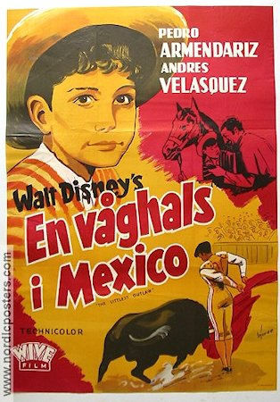The Littlest Outlaw 1956 Pedro Armendariz Mexico