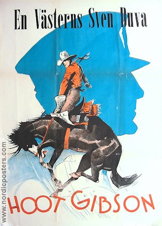 40-Horse Hawkins 1926 poster Hoot Gibson