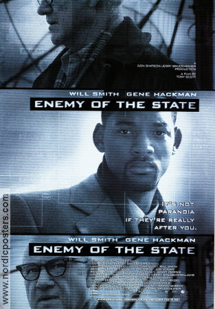 Enemy of the State 1998 Will Smith Gene Hackman