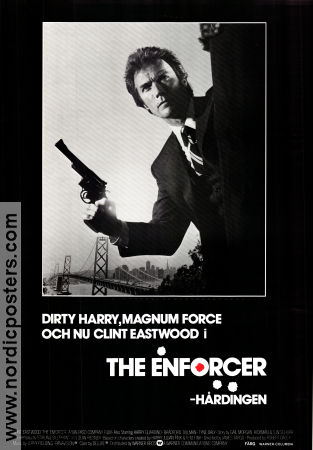 The Enforcer 1976 Movie poster Clint Eastwood