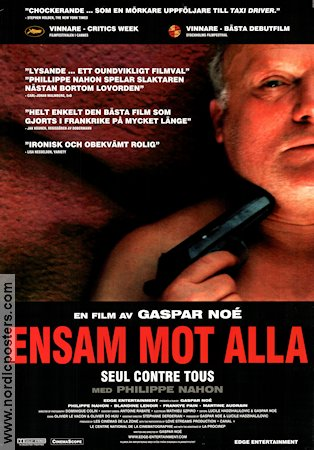 Seul contre tous 1998 Movie poster Gaspar No�