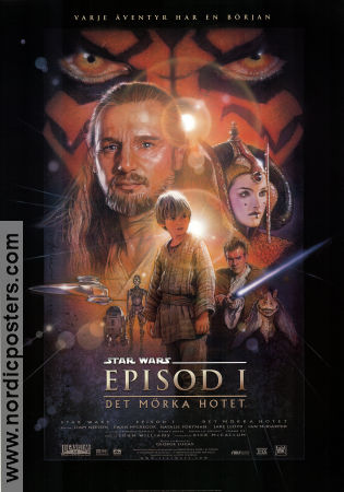 Episode I The Phantom Menace 1999 George Lucas Liam Neeson Ewan McGregor Star Wars