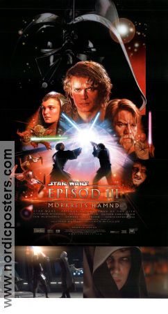 Episode III Revenge of the Sith 2005 poster Ewan McGregor George Lucas