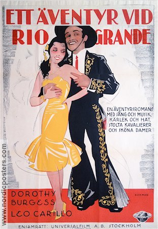 Lasca of the Rio Grande 1931 poster Dorothy Burgess