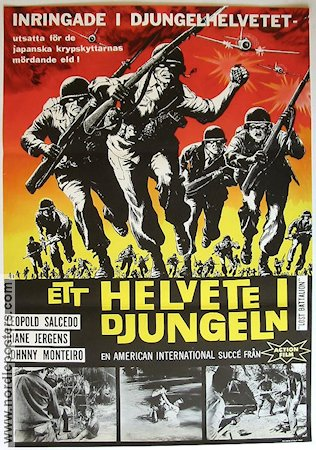 Lost Battalion 1963 Movie poster Diane Jergens