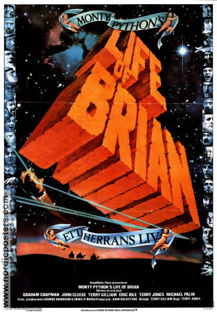 Monty Python´s Life of Brian 1979 poster Graham Chapman Terry Jones