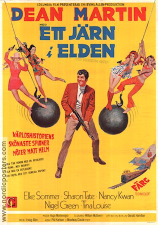 The Wrecking Crew Movie Poster 1969 Original By Nordicposters
