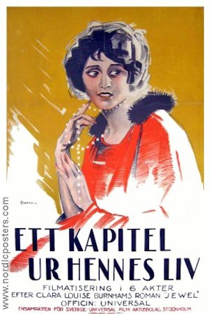 A Chapter in Her Life 1923 poster Lois Weber