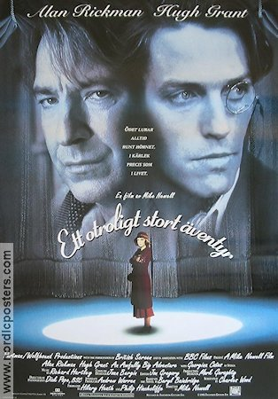 An Awfully Big Adventure 1995 poster Alan Rickman