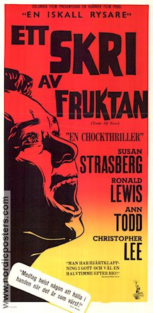 Taste of Fear 1961 Susan Strasberg Christopher Lee
