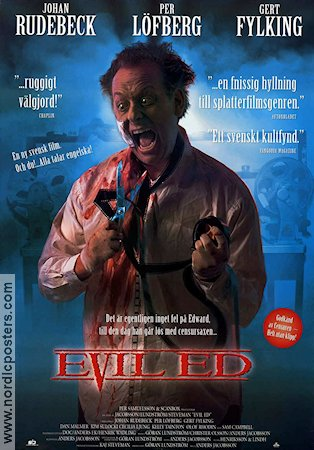 Evil Ed 1997 poster Johan Rudebeck Anders Jacobsson
