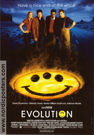 Evolution 2000 Movie poster David Duchovny