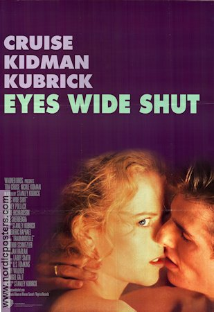 Eyes Wide Shut 1999 poster Tom Cruise Stanley Kubrick