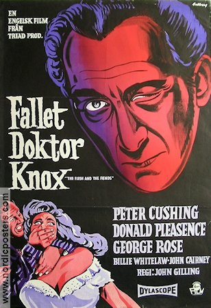 The Flesh and the Fiends 1959 Movie poster Peter Cushing
