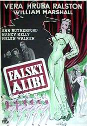 Murder in the Music Hall 1947 poster Vera Ralston