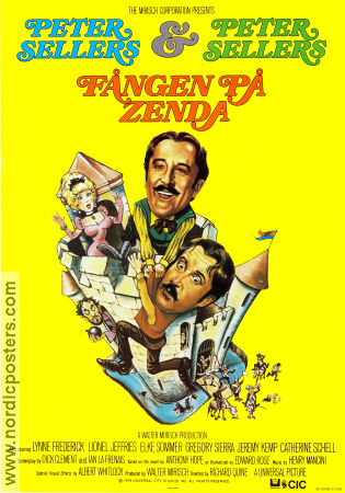 The Prisoner of Zenda 1979 Peter Sellers