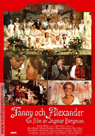 Fanny and Alexander 1982 Movie poster Ewa Fröling Ingmar Bergman
