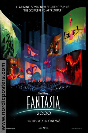 Fantasia 2000 2000 poster Mickey Mouse