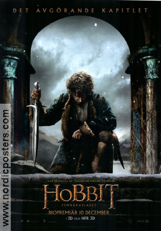 The Hobbit The Battle of the Five Armies 2014 poster Ian McKellen Peter Jackson