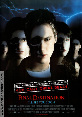 Final Destination 2000 poster Devon Sawa James Wong