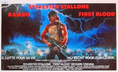 First Blood 1982 Sylvester Stallone Rambo