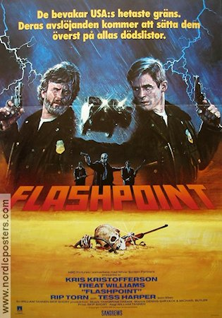 Flashpoint 1985 Kris Kristofferson Treat Williams