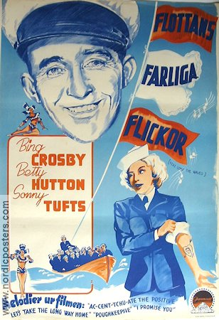 Here Come the Waves 1944 poster Bing Crosby