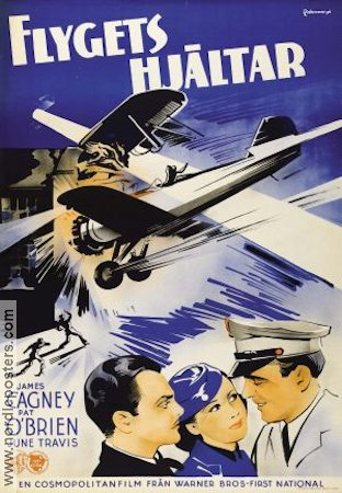 Ceiling Zero 1936 poster James Cagney