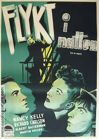 Fly By Night 1943 Movie poster Nancy Kelly