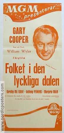Friendly Persuasion 1957 poster Gary Cooper William Wyler