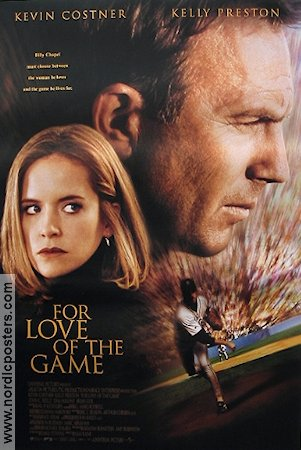 For Love of the Game 2000 Movie poster Kevin Costner
